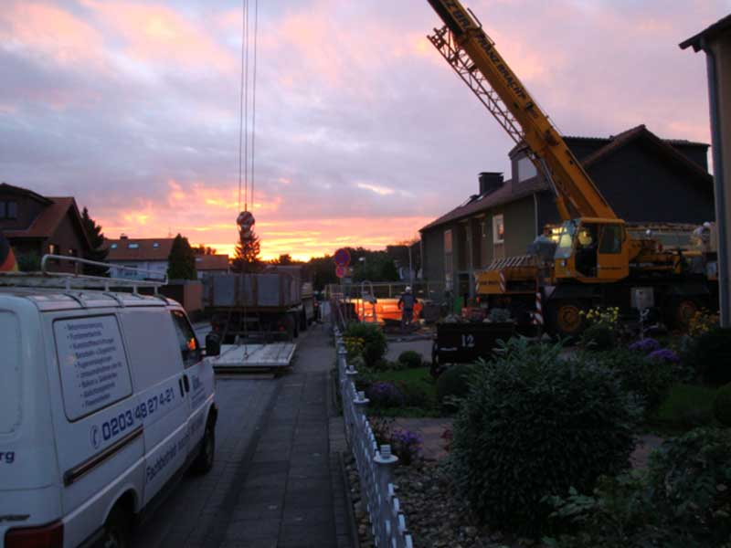 KOX Bau Oberhausen Duisburg Ratingen schlüsselfertige Bauleistungen
