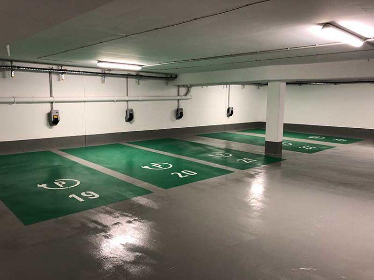 KOX Oberflächenschutz Parkhäuser und Tiefgaragen